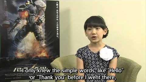 Mana Ashida Interview - Pacific Rim