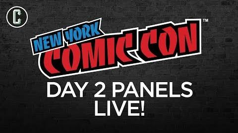 NYCC 2017 Day 2 Panels LIVE Pacific Rim Uprising, Doomsday Clock, and More!