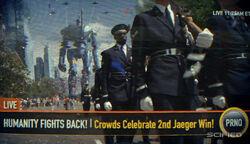 Celebrating the 2nd Jaegar win