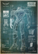 Gipsy Danger Blueprints