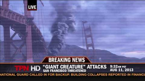 BREAKING NEWS KAIJU ATTACK