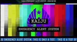 Kaiju Emergency Alert System