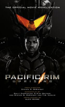 Pacific Rim Uprising Novelization Cover