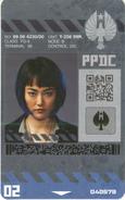 Mako Mori PPDC Badge
