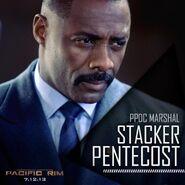 Stacker Pentecost Poster