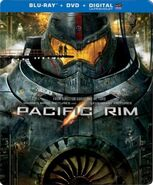 Pacific Rim Canada Steelbook DVD