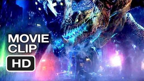 Pacific Rim Movie CLIP - Monster Mega-Brawl (2013) - Guillermo del Toro Movie HD