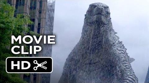 Godzilla Movie CLIP Let Them Fight (2014) - Bryan Cranston, Gareth Edwards Movie HD