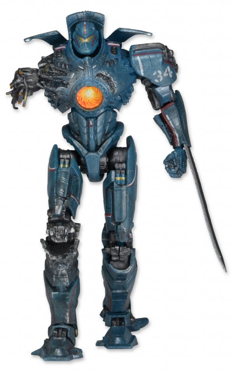 "Neca Pacific Rim Anchorage Attack Jaeger Gipsy Danger 7/"" Action Figure NEW"
