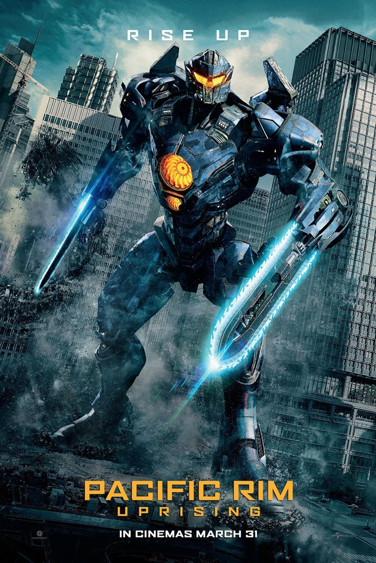 Image result for pacific rim uprising poster official