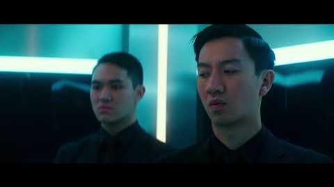 PACIFIC RIM UPRISING - Gottlieb And Newt Fight Their Way Out Of An Elevator Clip