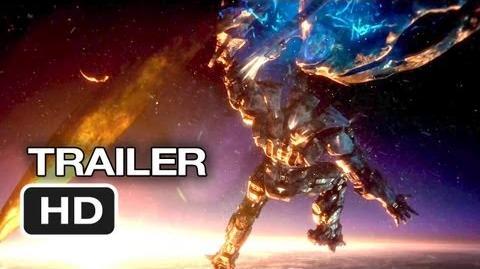 Pacific Rim Official Theatrical Trailer (2013) - Guillermo del Toro Movie HD