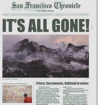 Sacramento Oakland Destroyed