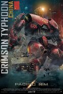 Crimson Typhoon Poster