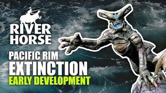 Pacific Rim Extinction - Early Development Stages With River Horse