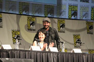 Rinko and Charlie Comic-Con 2012