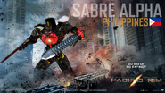 Pacific Rim Jaeger - Sabre Alpha1 By Paddy-One