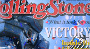 Cartel sobre la Victoria de Romeo Blue