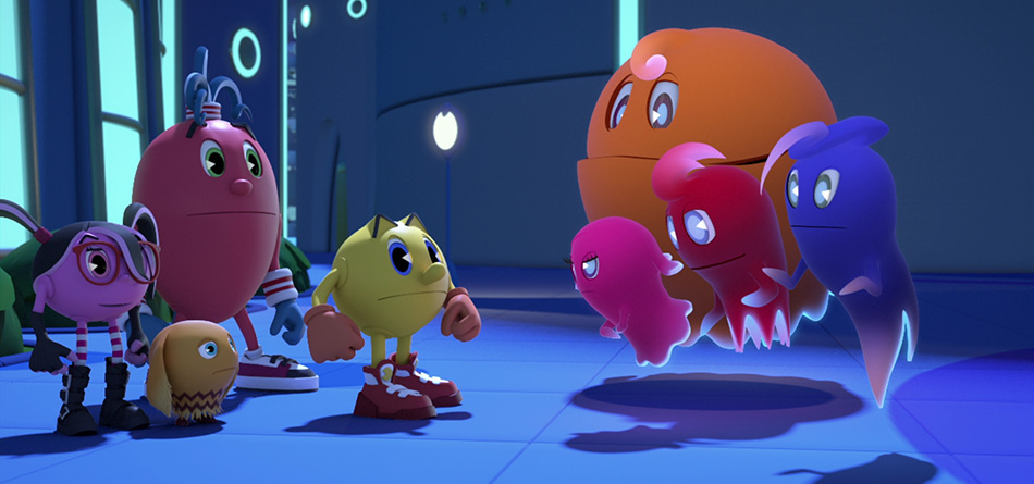 Pacman And The Ghostly Adventures Ghosts