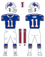 Bills color uniform