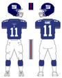 Giants color uniform