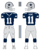 Cowboys color uniform