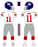 Giants white uniform