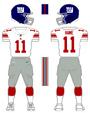 Giants white uniform