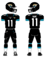 Jacksonville Jagaurs home uniform 2013