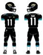 Jacksonville Jagaurs home uniform 2013