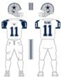 Cowboys alternate uniform