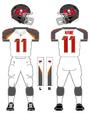 Buccaneers White Uniforms 2014
