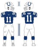 Colts color uniform