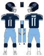 Titans color uniform