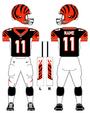 Cincinnati Bengals color uniform