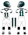 Eagles white uniform