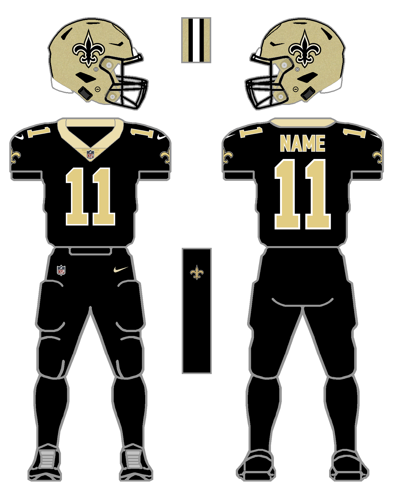 size 40 2ebcc 1f43d New Orleans Saints | Packers Wiki | FANDOM powered by Wikia