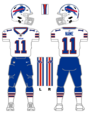 Bills white uniform
