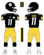 Steelers color uniform