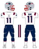 Patriots white uniform