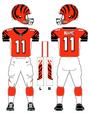 Cincinnati Bengals alternate uniform