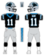 Panthers color uniform