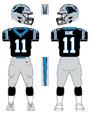 Panthers color uniform
