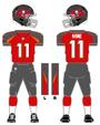 Buccaneers color uniform 2014
