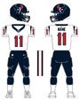 Texans white uniform