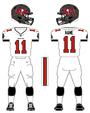 Buccaneers white uniform
