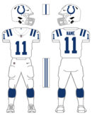 Colts white uniform