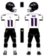 Ravens white uniform