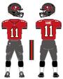 Buccaneers color uniform