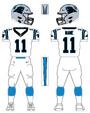 Panthers white uniform
